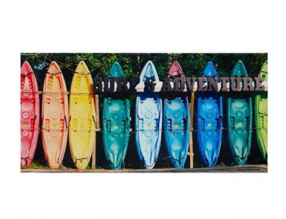 Kayaking Colors Gel Coat Canvas main image