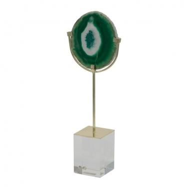 Large Floating Green Agate main image