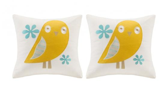 Agatha Embroidered Square Pillows main image