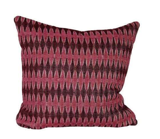 Magenta Striped Pillow main image
