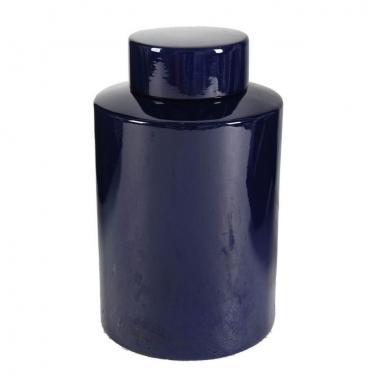 Midnight Blue Lidded Jar,Medium main image