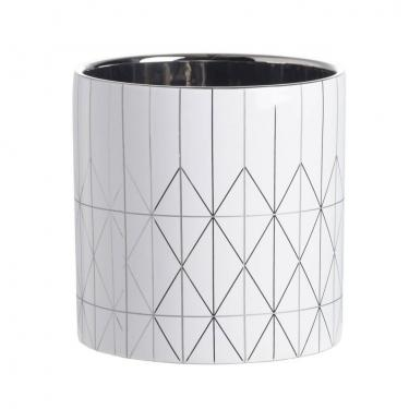 Modern Diamond Pattern Planter Large main image