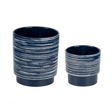 Blue and white Vases Set of 2 main image