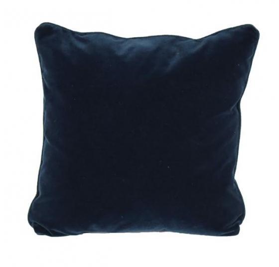 Navy Velvet Pillow main image