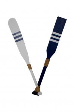 Blue & White Oars main image