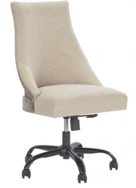 Linen Home Office Swivel Desk Chair main image