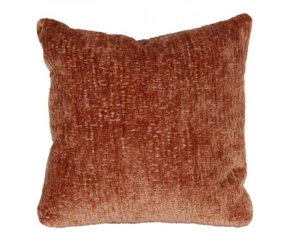 Peach Velvet Pillow main image