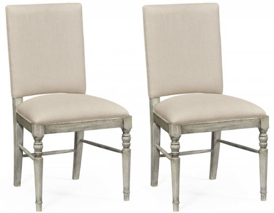 Jonathan Charles Rustic Grey Side Chairs main image