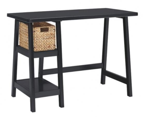 Home Office Small Desk - Black main image