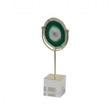 Small Floating Green Agate main image