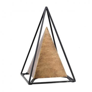 Small Iron Pyramid Table Decor main image