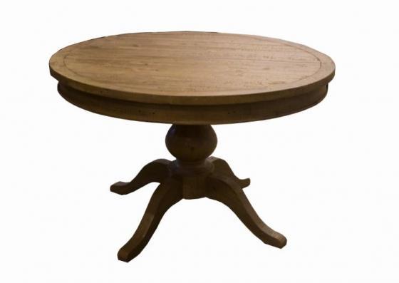 Round Pine Dining Table  main image