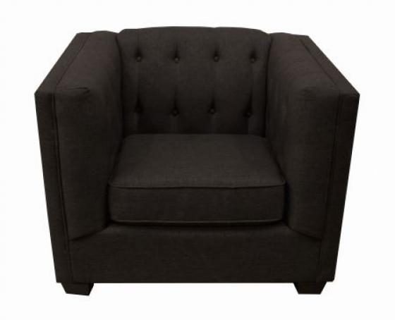 Grey Tuxedo Sofa Chair - goes with 14692 main image