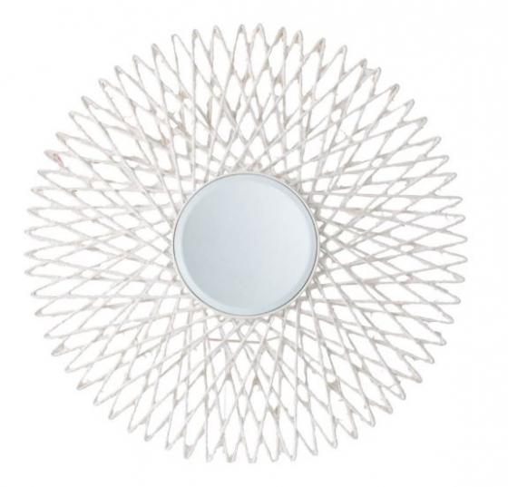 White Sunburst Mirror main image