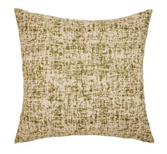 "Zepplin Olive Pillow 22""x 22"" main image"