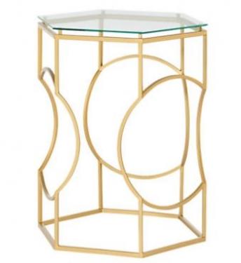 Golden Hexagon Table  main image