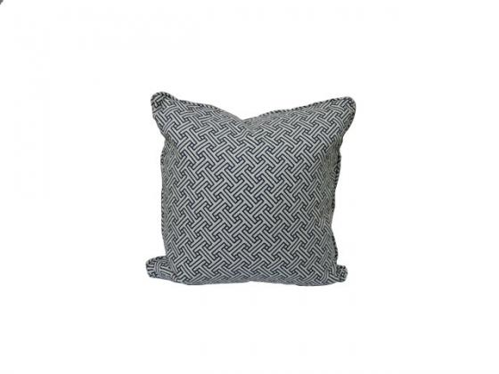 Stencil Oceanside Pillow main image
