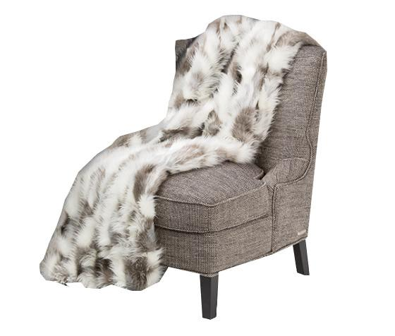 Tiff Fur Throw main image