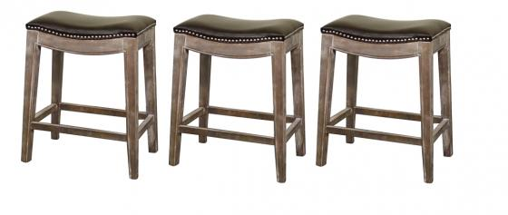 Elma Bonded Leather Counter Stools main image