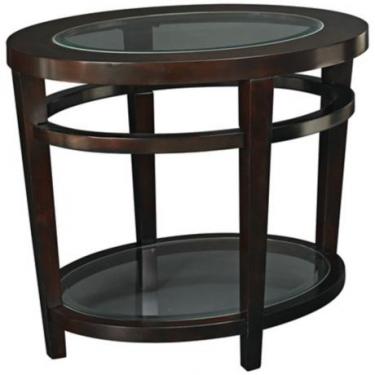 Dark Wood End Table  main image