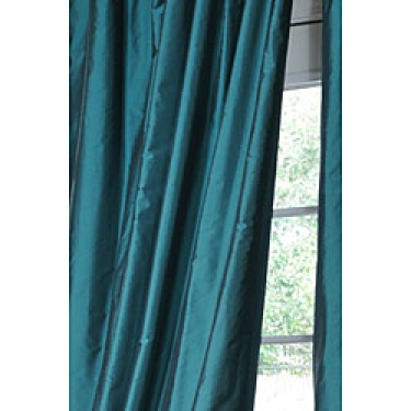2 Luxurious Sea foam Silk Lined Panels  main image