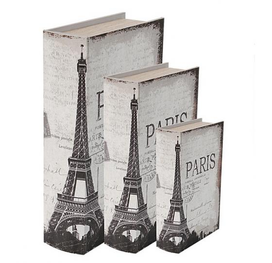Faux Paris Books Set of 3 main image