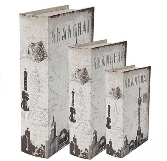 Faux Shanghai Books Set of 3 main image