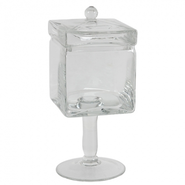 Ice Cube Glass Jar main image