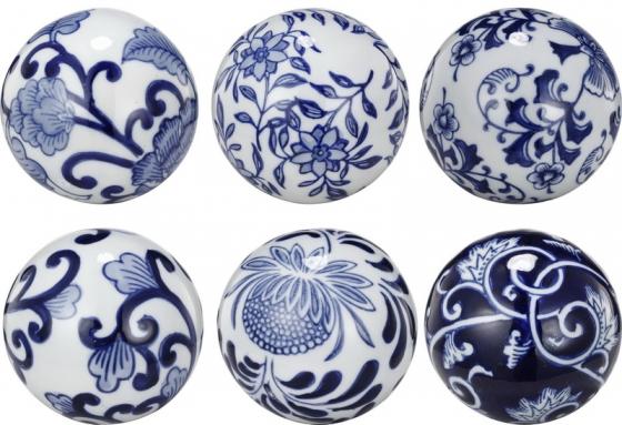 Round China Ceramics Set of 6 main image