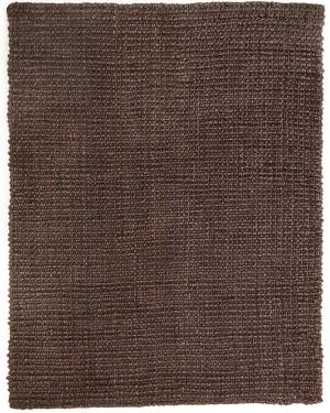 5x8 Couverture Chocolate Jute Rug  main image