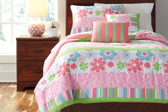 Flower Medley Twin Bedding  main image