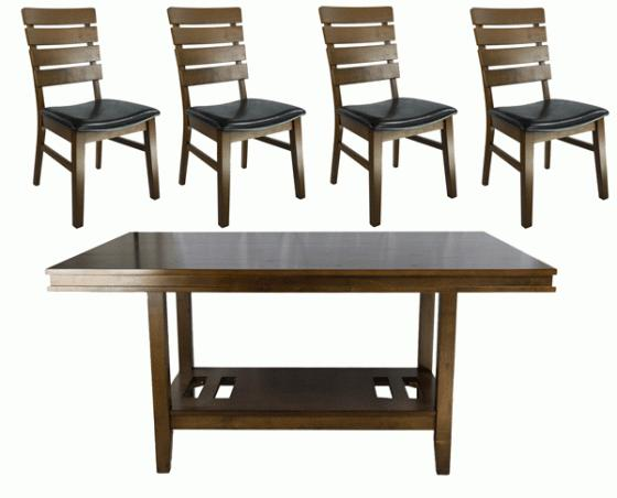 Venice Dining Table w/  4Chairs main image