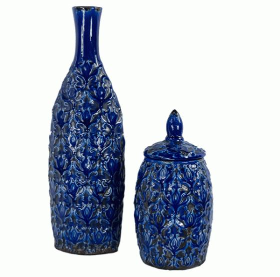Blueberry Ceramic Vases main image