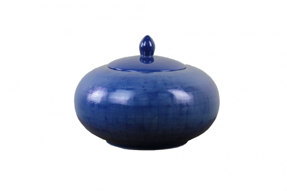 Blue Lidded Jar  main image