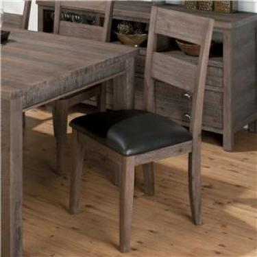 Set of 2 - Grey Dining Chairs -goes with 15422 main image