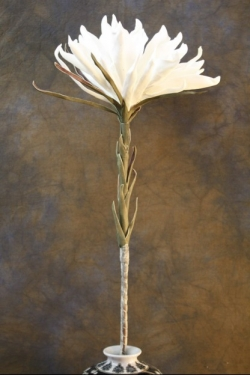 "60"" White Foam Flower  main image"