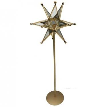 Star decor on stand 7 x 20 main image