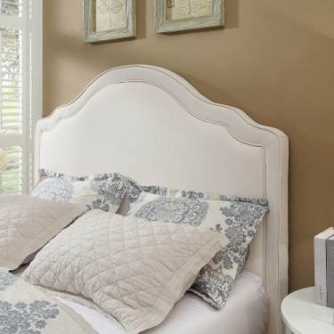 Queen Ivory Linen Headboard Member Price: $308.00 main image