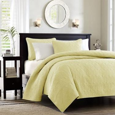 Soft High Quality Pale Daffodil King Bedding Set main image