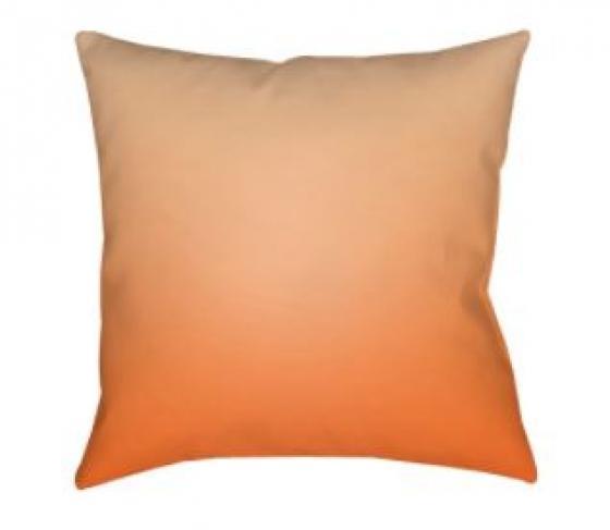 Orange Textures Pillow main image