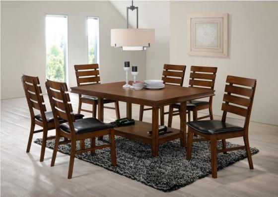Venice Dining Table w/ 6 Chairs main image