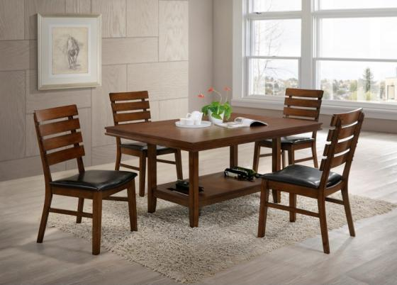 Venice Dining Table w/ 4 Chairs main image