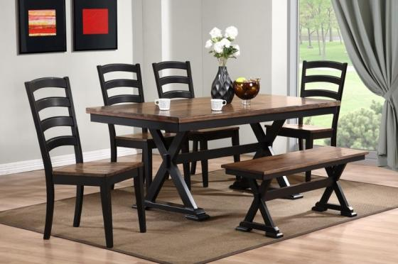 Cambridge Dining Table w/ 6 Chairs