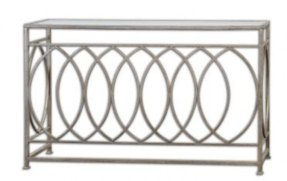 Silver Leaf Console Table Member Price: $582.00 main image