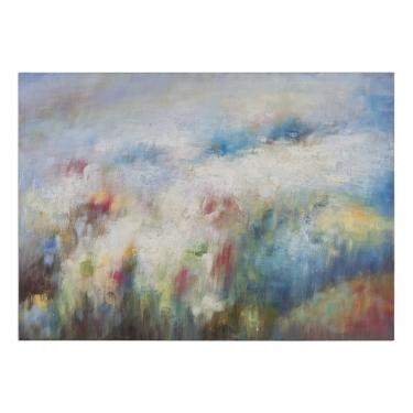 Breathe Abstract Art Painting Print on Canvas main image