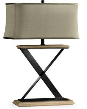 Artisan Table Lamp with Wrought Iron main image
