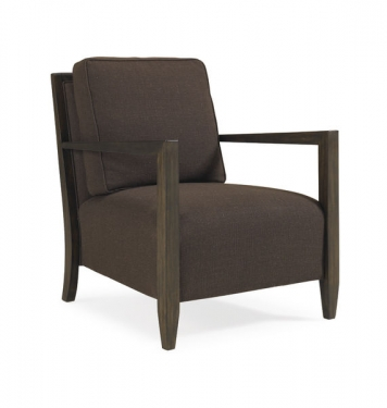Mocha Tapered Accent Chair by Schnadig main image