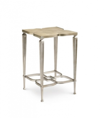 Silver Flower End Table by Schnadig main image