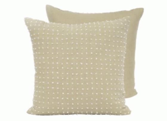 French Knot Design Pillows set of 2 main image