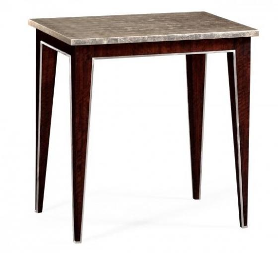 Black Eucalyptus Rectangular End Table main image